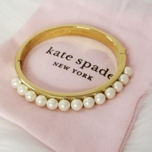 Kate Spade Pearly Delights Hinged Bracelet